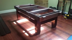 Correctly performing pool table installations, Harrisburg Pennsylvania